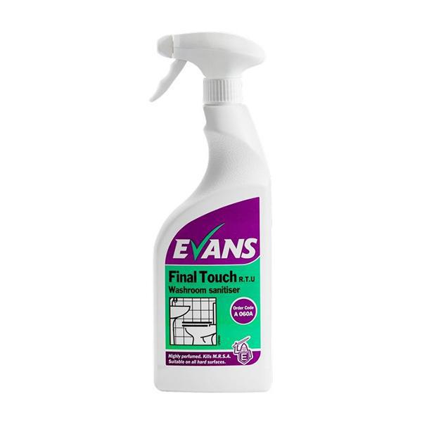 Evans-Final-Touch-Bactericidal-Cleaner-750mL-CASE