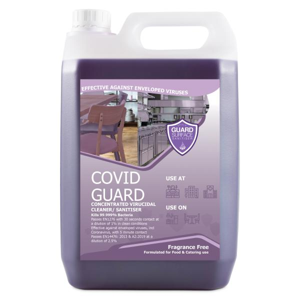 Covid Guard Concentrated 35 : 1 Fragrance Free - 5L