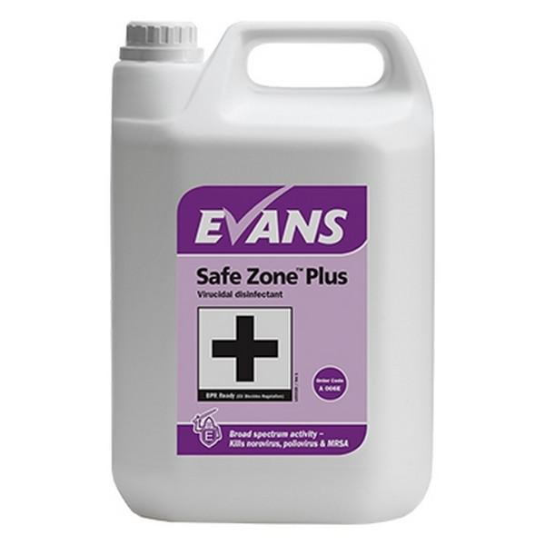Evans Safe Zone Plus Disinfectant 5L Eco