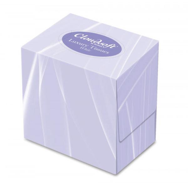 White Cube Facial Tissue 2ply