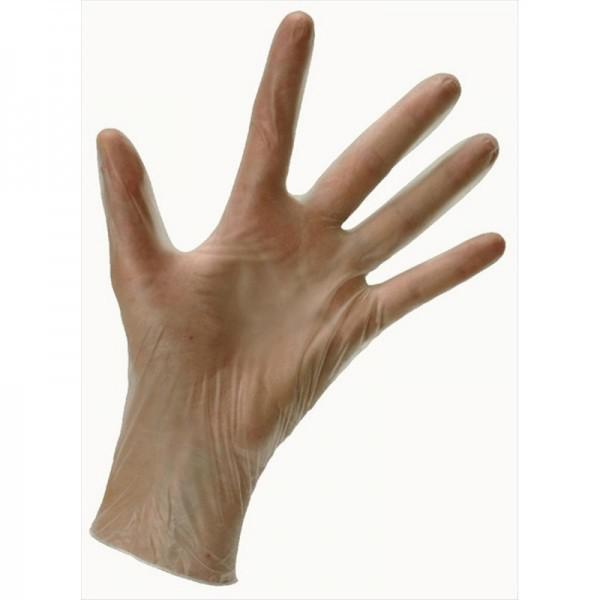 Extra Large Vital CLEAR Vinyl Non Powder Gloves
