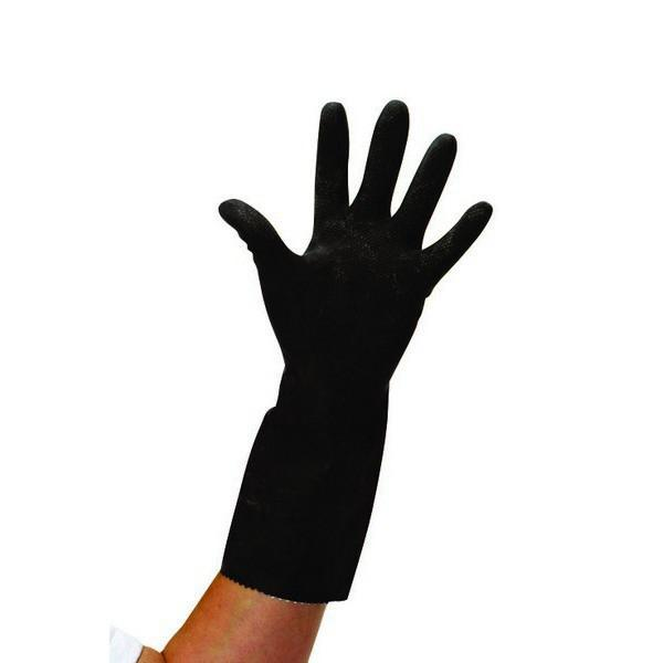 Large-Black-Thick-Rubber-Gloves